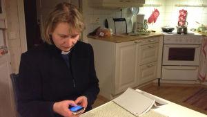 Ann-Sofi Storbacka, sjukhuspräst