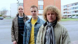 Niklas Willberg, Ari Suomi och Tomas Ingo