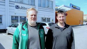 Tom Kecklund och Jens Drud Hansen