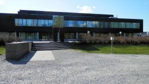 Finska arbetscentralens nya utrymmen i gamla Handelsskolan