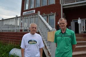 Bertel Sundman och Alf Malm.