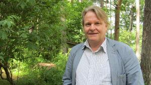 Docent Kimmo Sarje vid Helsingfors universitet.