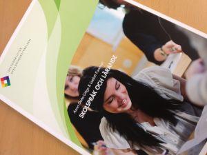 Boken Skolspråk och lärande utgiven av Utbildningsstyrelsen 08/2013