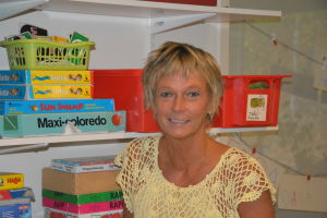 Daghemsföreståndare Janet Zweigberg.