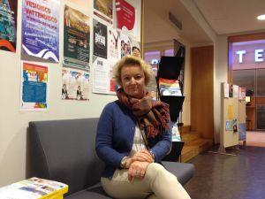 Pia Hägglund på Welcome Office i Vasa.
