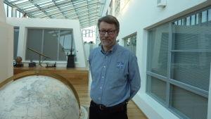 Per-Olof Karlsson är ansvarig utbildningschef för sjöfartsutbildningen vid Novia i Åbo