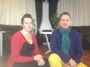 Jenny Långkvist och Patric Sjölander