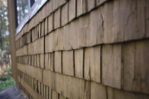Trä är ett av materialen i växthust.