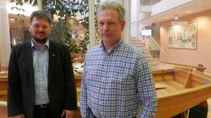 Johnny Sved och Bert Krekula