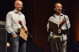 Henrik Niemistö och Svente Forsbäck från Chartmakers.