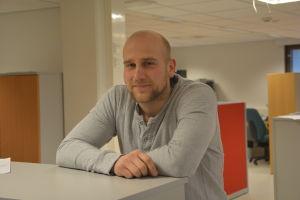 Niklas Malm är lagkapten i Raseborg Knights
