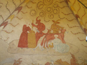 Murals of Saint Lawrence Church, Lohja, Finland