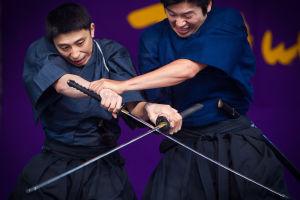 Samurait taistelevat