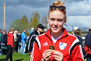 Johanna Hilli från HIFK på Sjundeå Cup 2015