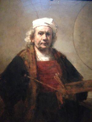 rijksmuseum, rembrandt självporträtt