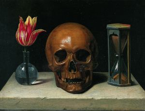 Philippe de Champaigne: Still-Life with a Skull (1671)