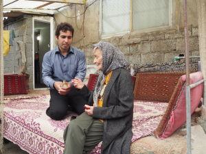 ellen vuosalo, iran