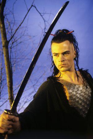 Näyttelijä Carl-Kristian Rundman (roolinimi Boromir).