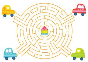Pikku Kakkonen: autolabyrintti