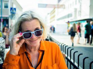 Tarleena Sammalkorpi Kajaanin runoviikolla 2015