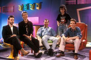 Paul Oxleys Unit Rockstopin kulisseissa syksyllä 1989.