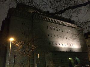 Forna technoklubben Bunker i Berlin. (Idag Kunstbunker och hem för Sammlung Boros.)
