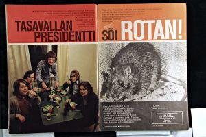 Suosikki-lehden kohujuttu Tasavallan Presidentistä 1970