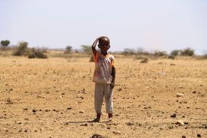 somalisk pojke i somaliland