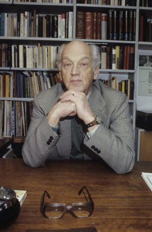 Säveltäjä Einar Englund. (1983)