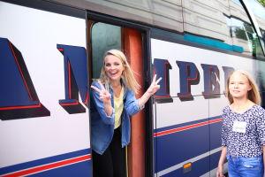 A-K i bussen.