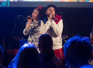 Uusi Päivä järjesti livekonsertin studiossa Tampereen Mediapoliksessa 11.6.2016.