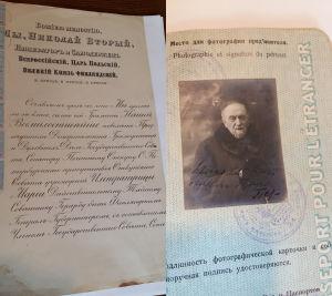 Nikolai Nikolajevitsh Gerardin asiakirjoja