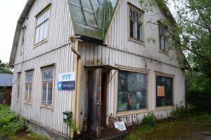 Linnas gamla butik i Nickby