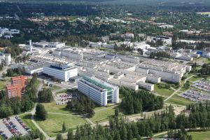 Ilmakuva Oulun yliopistollisesta sairaalasta