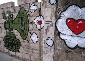 panssarivaunugraffiti beirutissa
