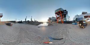 360-kuvaamisen kokeilua älypuhelimella