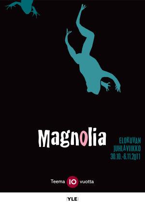 """Teeman Elokuvan juhlaviikon juliste """"Magnolia"""""""