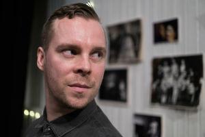 Näyttelijä Mitro Härkönen.