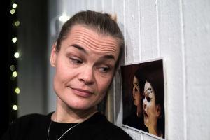 Näyttelijä Niina Sillanpää.