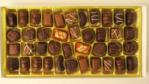 Lidlin Palace Vanessa -suklaakonvehteja