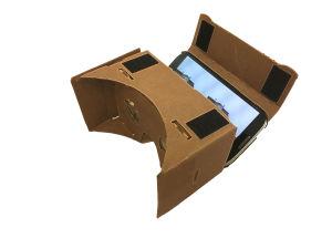 Aseta älypuhelin virtuaalitodellisuuslasien koteloon ohjeiden mukaisesti