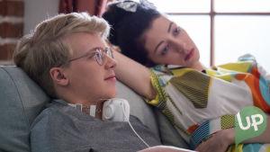 Kuvassa Roni Siren (Ville Rossi) ja Anni Malinen (Anette Aghazarian).