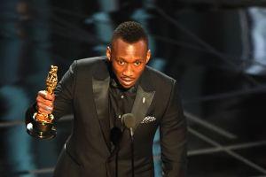 Mahershala Ali vid Oscarsgatan 2017