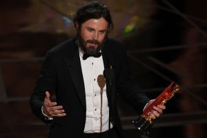 Casey Affleck vann i kategorin bästa manliga skådespelare vid Oscarsgalan 2017.