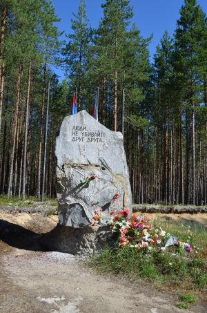 Muistomerkki Sandarmohissa