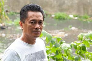 Nelson Manibo ansvarar för Röda Korsets verksamhet i Baranguay 176 i Caloocan City.
