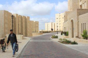 Staden Rawabis nybyggda stadsdel.