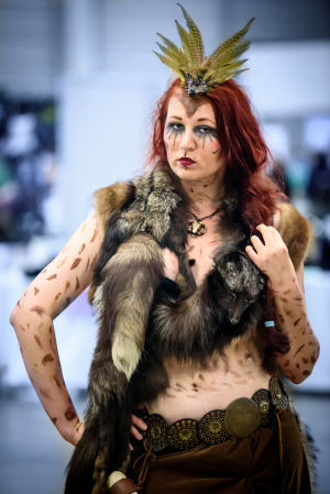Lady Winkheart på World Con 75