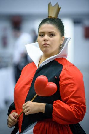 Riia som Queen of Hearts på World Con 75
