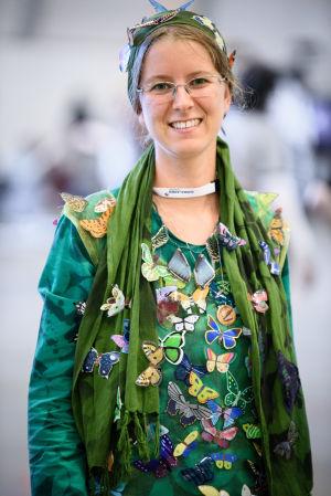 Eva Maderbacher på World Con 75